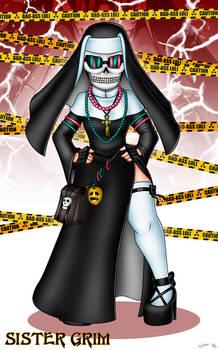 Follow Sister Grim on Twitter