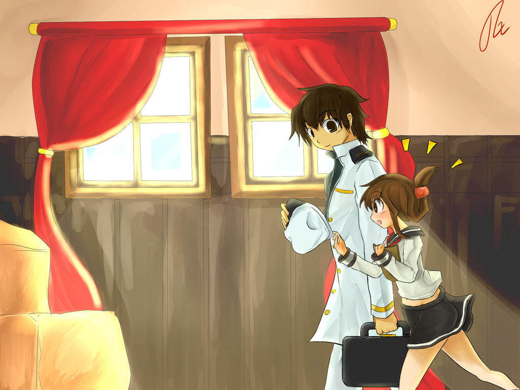 Kancolle-001-First Meeting by RenFortineri