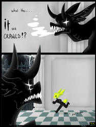 Masks: Chapter 1 page 35 by RozalinRed