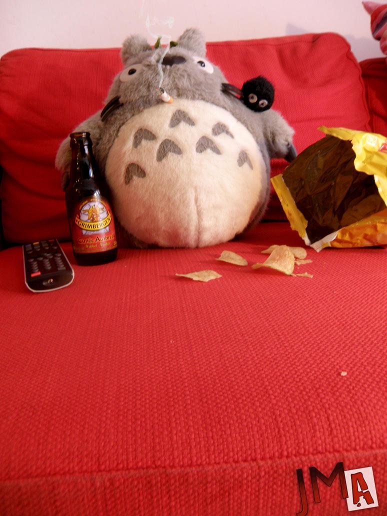 Totoro detente by JMA-13