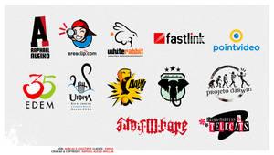 Portfolio 8 - Logotypes by RaphaelAleixo