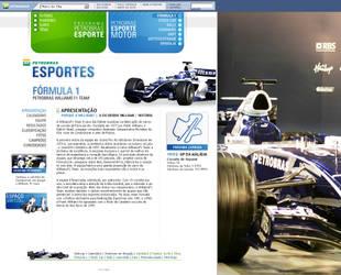 Petrobras Esportes F1 screen by RaphaelAleixo