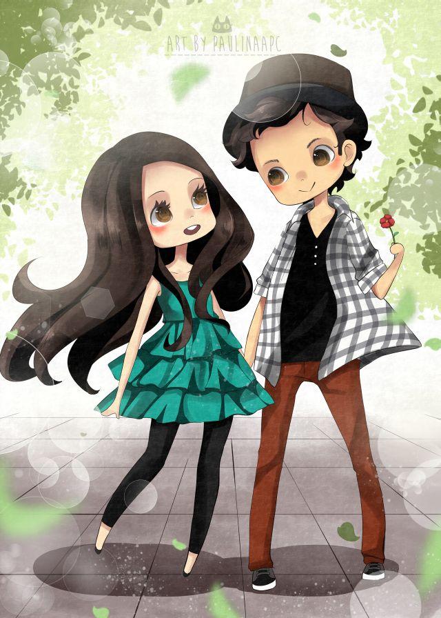 Commission: Jose and Paulina by PaulinaAPC