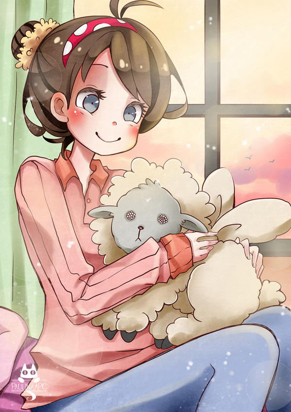Peluche de oveja by PaulinaAPC