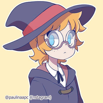 Lotte - Little Witch Academia by Paulinaapc