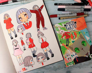 Maestro Gato - character design by Paulinaapc