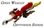 Ginny Weasley by agpotter