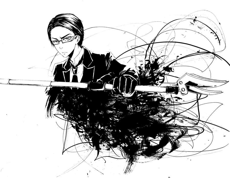 Kuroshitsuji: William T. Spears by Moiscen