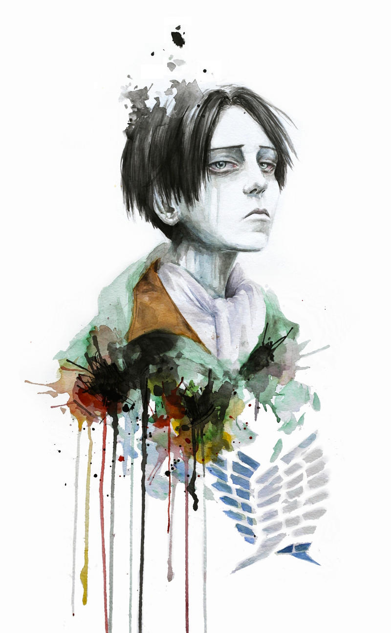 snk levi by moiscen on deviantart