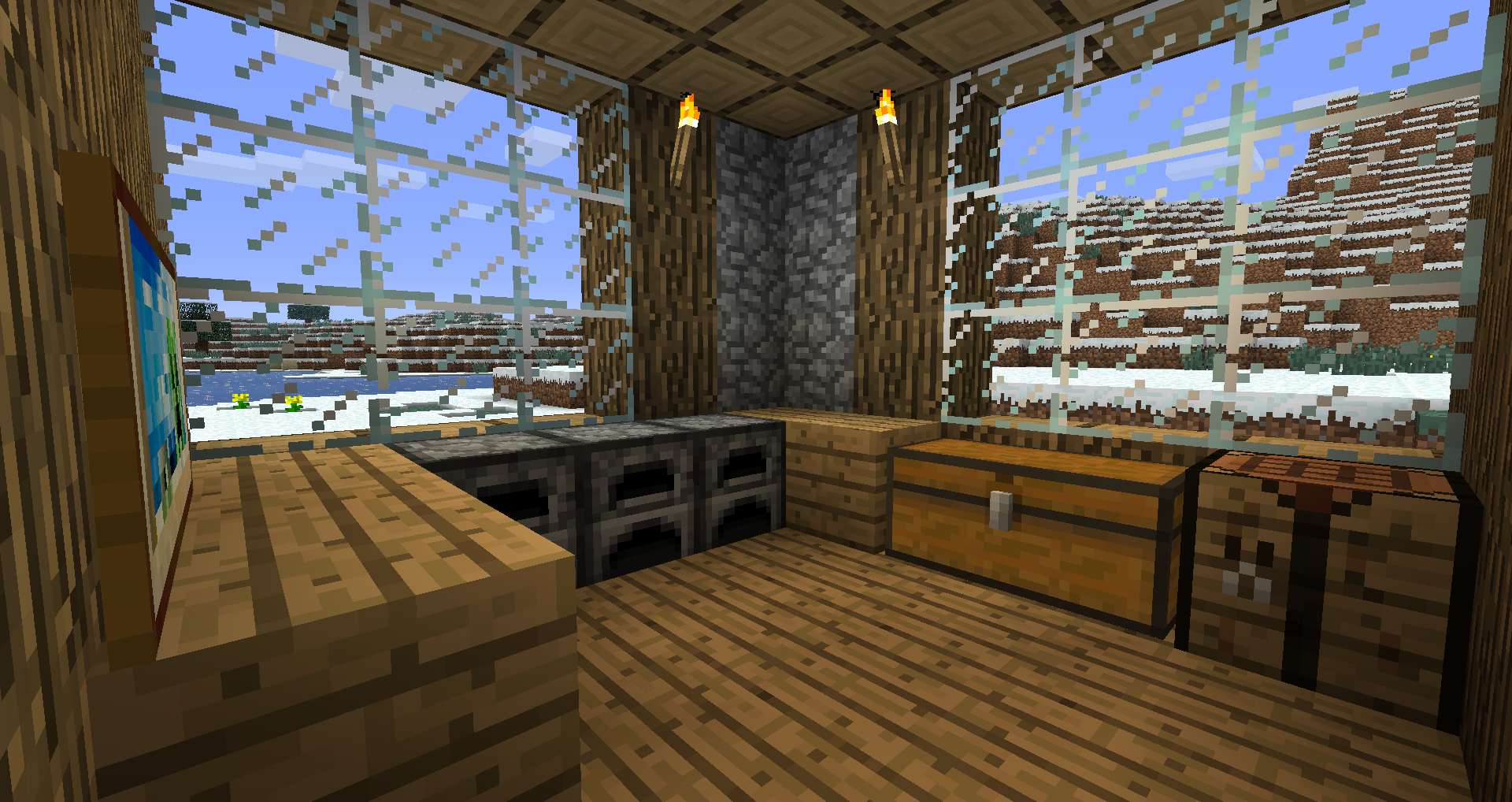 MineCraft cool house 1 by anthony2270 on DeviantArt