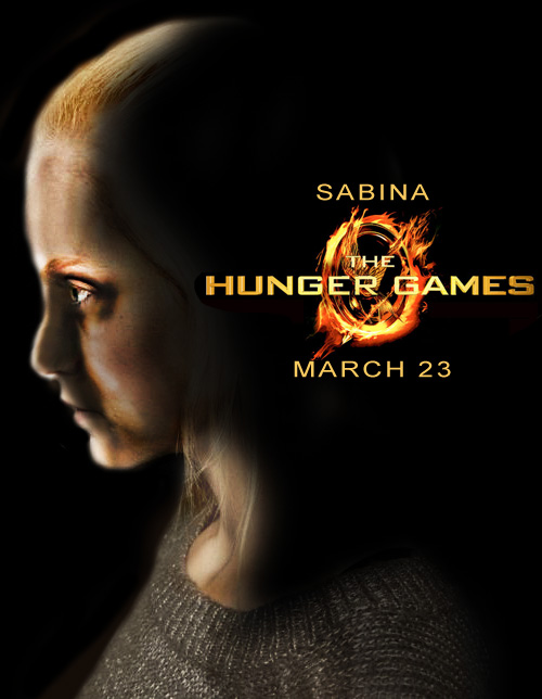 Hunger Games OC poster by StarFashionista10