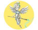 [Overwatch] Mercy Winged Victory