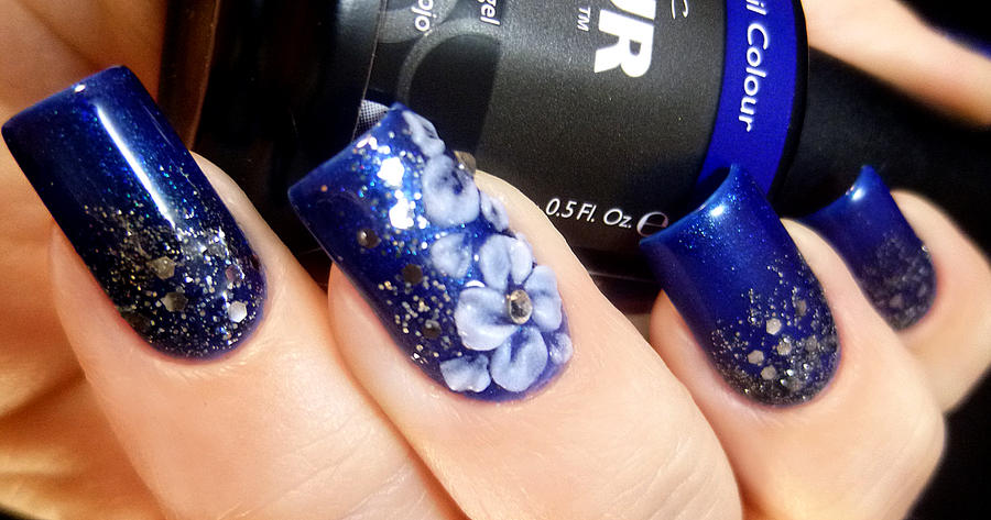 Pretty blue acrylic flower nail art by tenlittlecanvases on deviantart pretty blue acrylic flower nail art by tenlittlecanvases prinsesfo Image collections