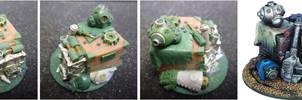 Warmachine Jack Parts Objective Marker