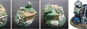 Warmachine Jack Parts Objective Marker by MechanicalHorizon