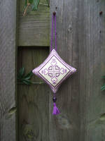Ornament of the Month - February,  Ornament finish by Magical525