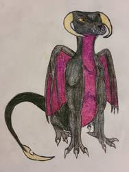 Black Dragon Wyrmling