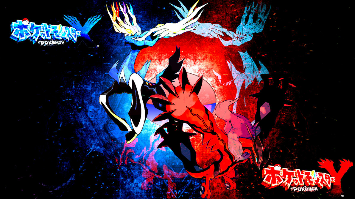 Pokemon X and Y: Xerneas and Yveltal by FRUITYNITE on DeviantArt