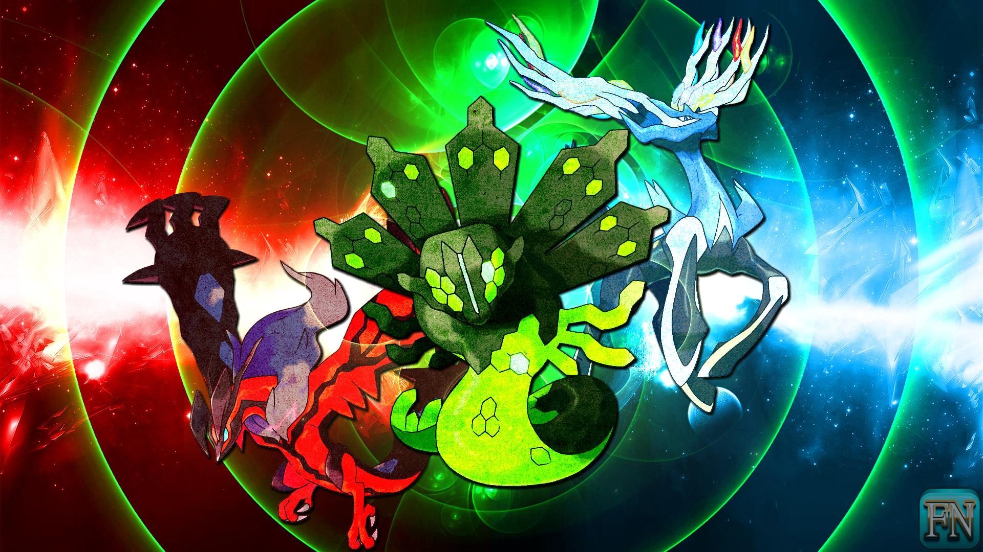 Pokemon Wallpaper: Xerneas Yveltal and Zygarde by ...