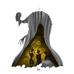 Deathly Hallows (HP fanart)