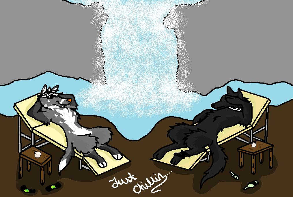 Just chillin by BlackMountain150