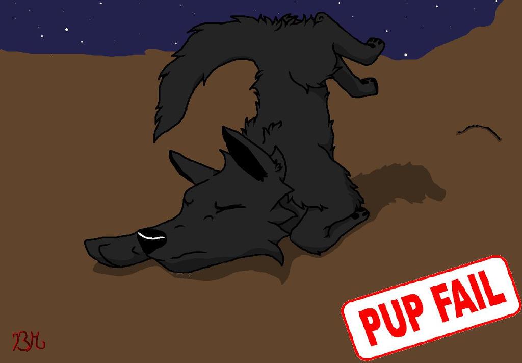 Pup fail by BlackMountain150