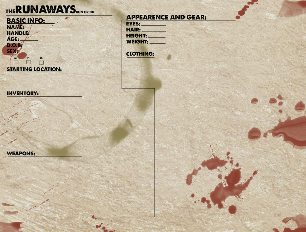 theRunaways application by snakes-on-a-plane