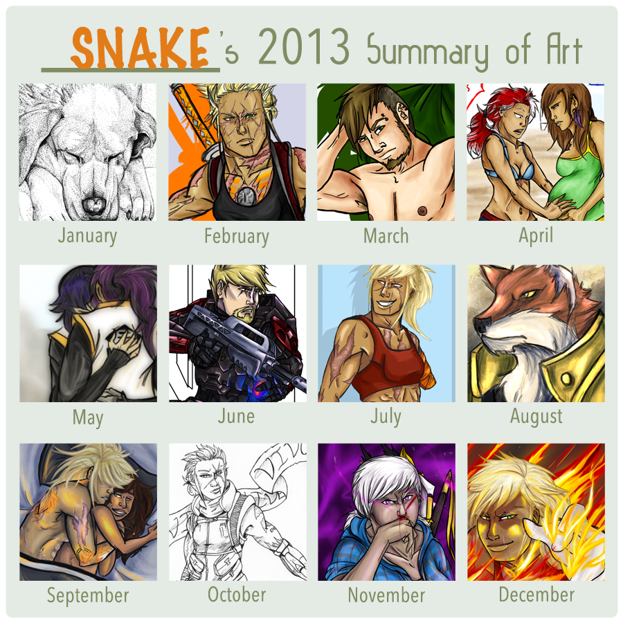 2013 by snakes-on-a-plane