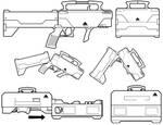 Triax Suitcase Guns