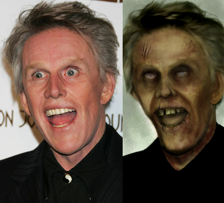 Zombie Busey - before 'n after by BrianManning on DeviantArt