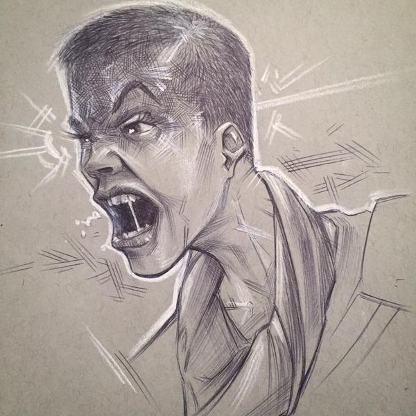Furiosa Mad Max Fan Art by BrianManning