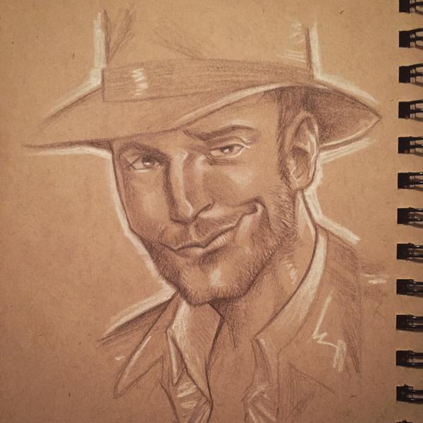 Chris Pratt as Indiana Jones by BrianManning