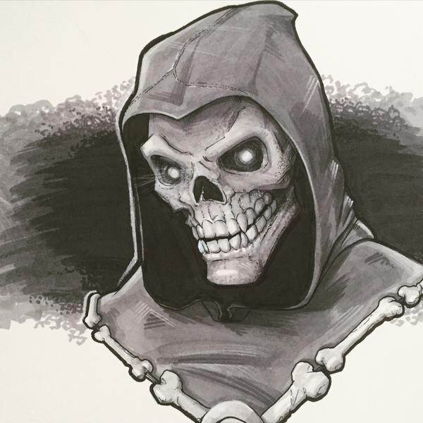 Skeletor by BrianManning