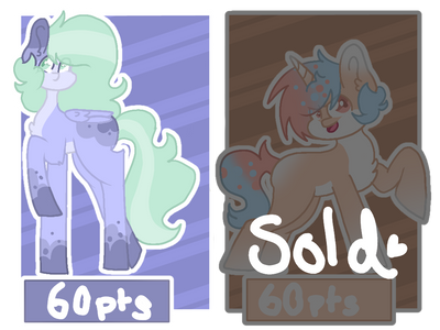 My Little Pony Adopts (Open) by KingSillySmilez