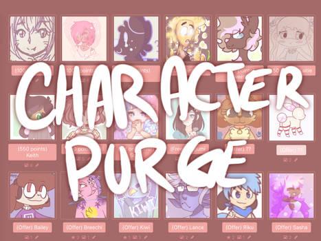Character Purge