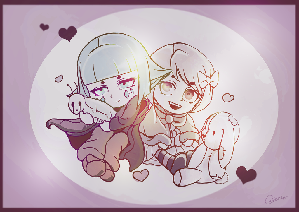 Hazel and Noona Chibi by Cuddens