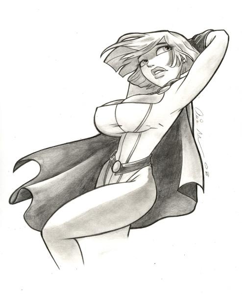 Powergirl 2 by mainasha