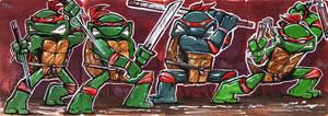 Color turtles by mainasha