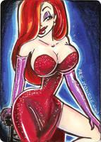 Jessican Rabbit Card1 by mainasha