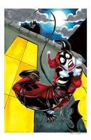 Harley batman by mainasha