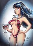 Daily Sketchs: Vampirella week 2 by mainasha