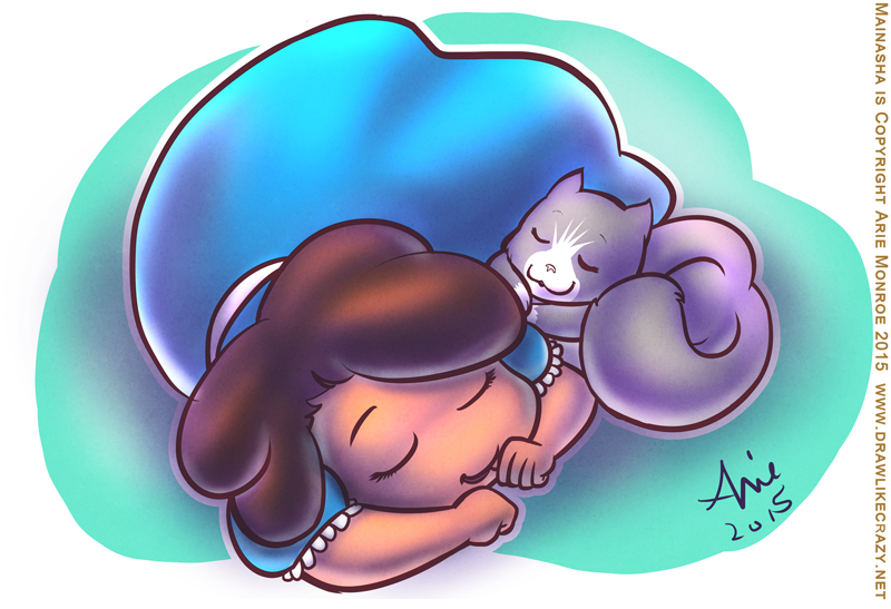 Kitty Cat Snuggles by mainasha