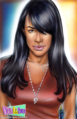 AALIYAH  Portrait for a friend