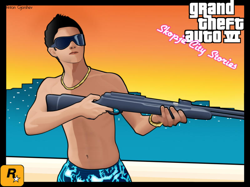 Gta 5 Cartoon Characters : Gta skopjecity character anton by antongj on deviantart