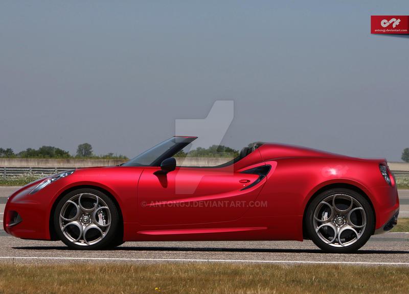 Alfa Romeo 4c Spyder - Anton by antongj