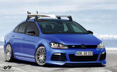 Golf MkVII R - Anton CC rotiform by antongj