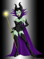 Sexy Maleficent - Color by LicieOIC