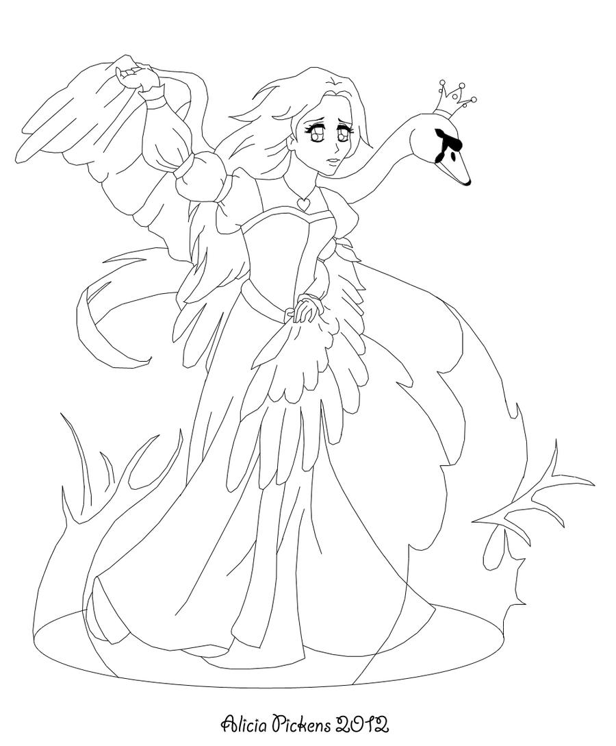 Image Result For Cool Swan Coloring