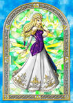 Stained Glass Zelda