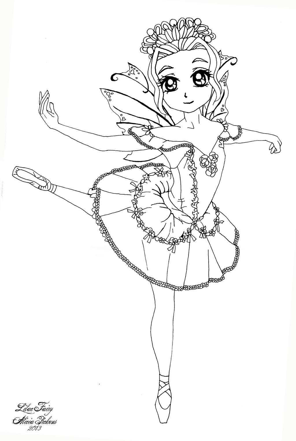 Lilac Fairy Sleeping Beauty Ballet By Licieoic On Deviantart